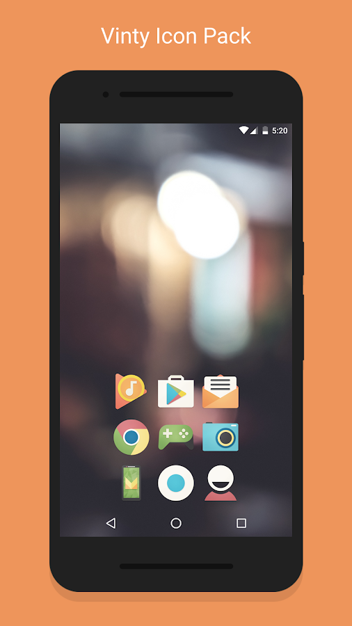 Vinty - Icon Pack Screenshot 0