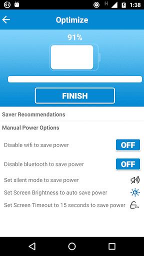 Battery Saver HD & Task Killer - screenshot