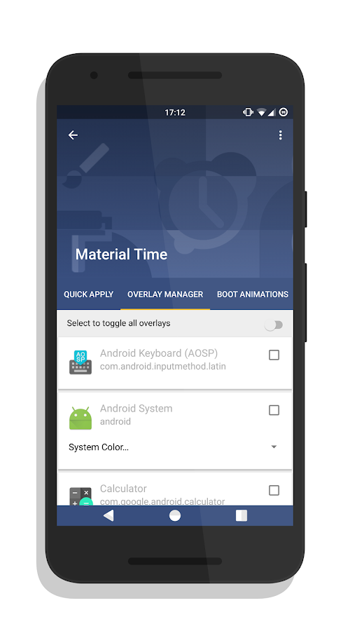 [Substratum] Material Time Screenshot 0