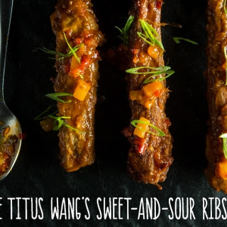 Sweet-and-Sour Pork Ribs