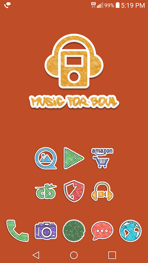 Doodle Stickers Icon Pack Screenshot 5