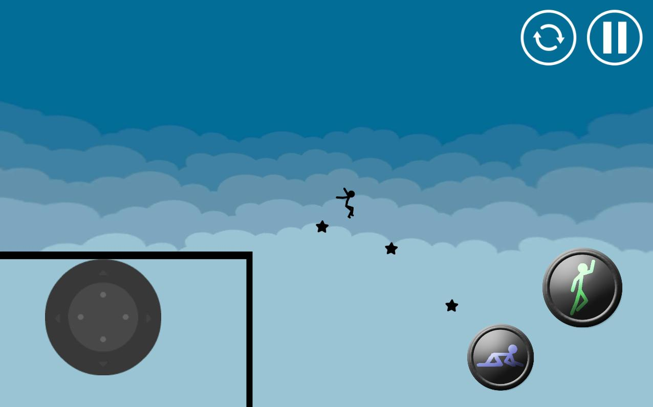 Stickman Parkour Platform Screenshot 2