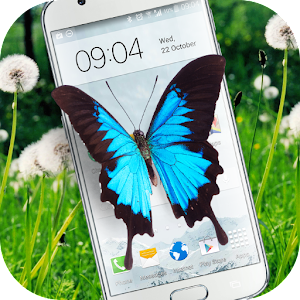 Download Butterfly in Phone lovely joke For PC Windows and Mac