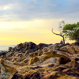 Beach by Putra Dian - Landscapes Waterscapes ( bangka, stone, beach, landscapes, waterscapes, photoshop,  )