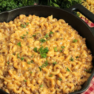 Hamburger Macaroni Vegetable Cheese Recipes
