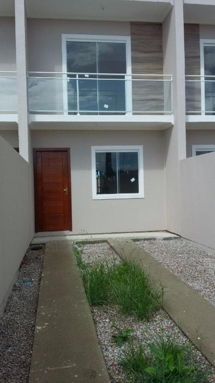 Sobrado com 2 dormitórios à venda, 63 m² por R$ 180.000,00 - Joaia - Tijucas/SC