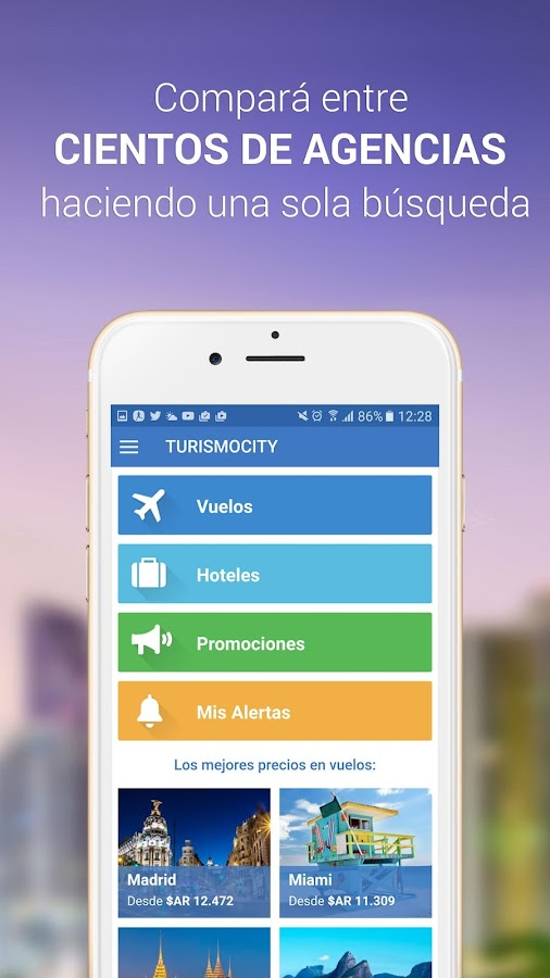 Turismocity Vuelos Baratos Screenshot 1