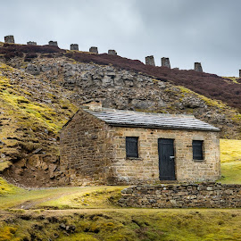 by Darrell Evans - Buildings & Architecture Other Exteriors ( countryside, dales, clouds, moorland )