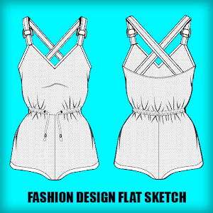 Fashion Flat Sketch Designs