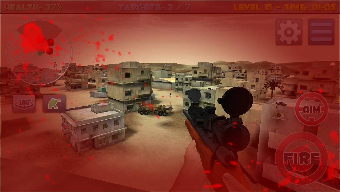 Sniper Commando Assassin 3D Screenshot 12