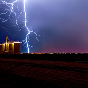 by Jim Moon - Landscapes Weather ( lightning, monsoon, silos, whisper river photography,  )