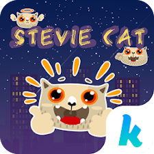 Kika Pro Stevie Cat Sticker