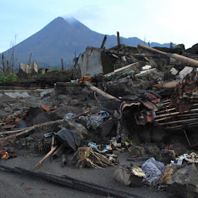 from the eruption of Mount Merapi by Muhamad Ezza Setiawan - News & Events World Events