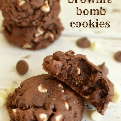 Brownie Bomb Cookies