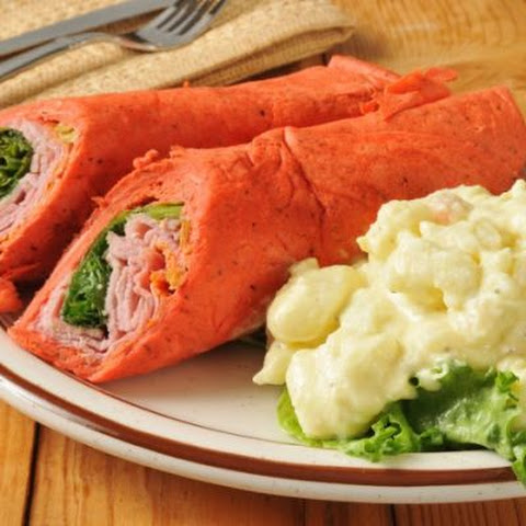 Pineapple Ham Tortilla Wraps