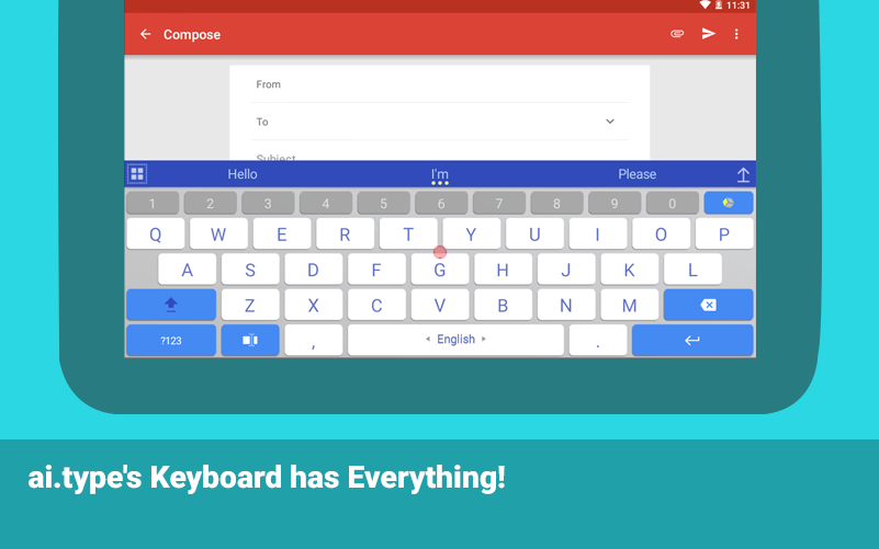 ai.type keyboard Pro + Emoji Screenshot 9