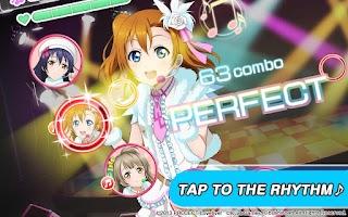 Screenshot of School idol festival
