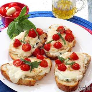 Caprese Toasts + A Giveaway!