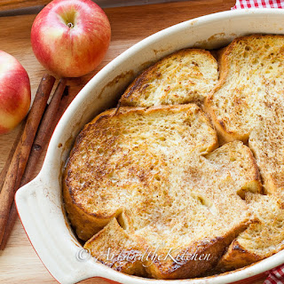 Oven Baked Apple French Toast