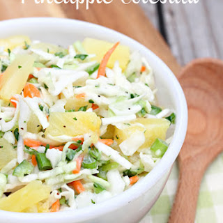 Cabbage Coleslaw Pineapple Recipes