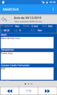 MédiClick Mobile Edition - screenshot