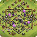 Game Maps of Coc TH9 apk for kindle fire