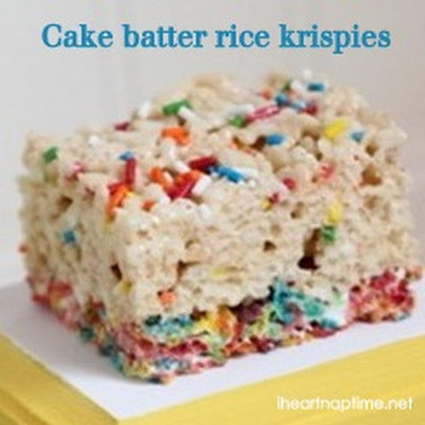 BEST rice krispy treat