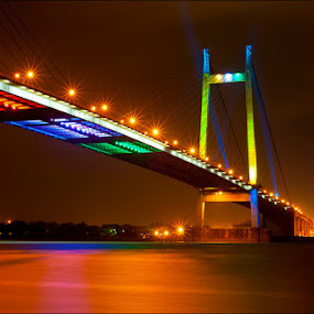 Vidyasagar Setu by Arindam Chakrabarty - Buildings & Architecture Bridges & Suspended Structures ( bridge, pwcbridges,  )