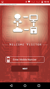 Welcome Visitor - screenshot