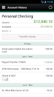 Screenshot of BankPlus Personal Mobile
