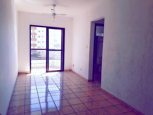 Excelente Apartamento com 1 dormitório para alugar, 55 m² por R$ 1.150/ano - Boqueirão - Praia Grande/SP
