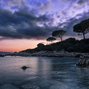 Conca Verde by Maurizio Mameli - Landscapes Waterscapes ( clouds, sky, sardinia, north sardinia, sea, rock, seascape, landscape, italy, sun )