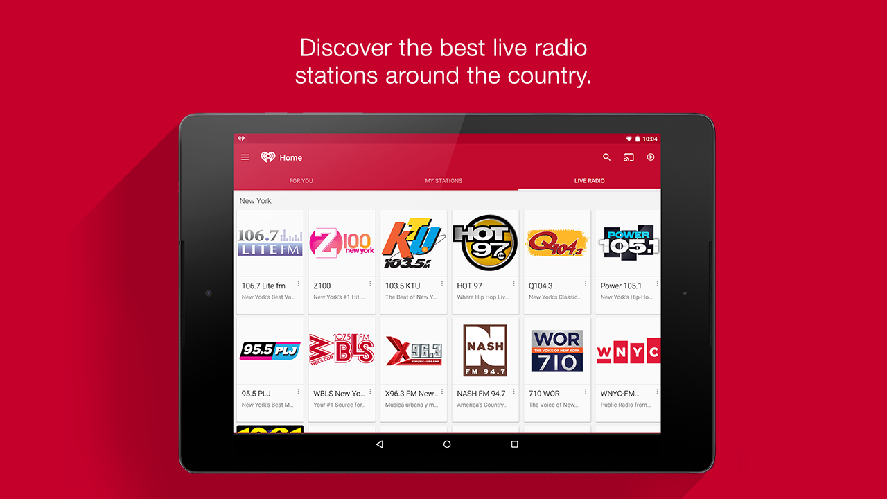 iHeartRadio Free Music & Radio Screenshot 8