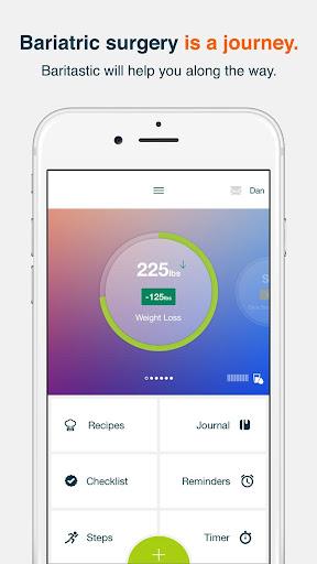 Baritastic - Bariatric Tracker screenshot for Android