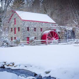 The Grist Mill by David Long - Buildings & Architecture Public & Historical ( sudbury, grist mill, massachusetts )