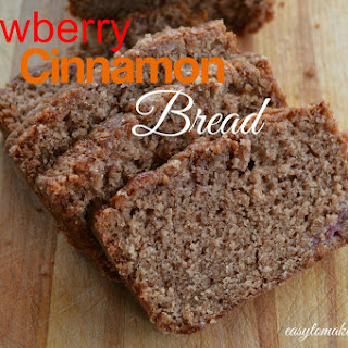 Strawberry Cinnamon Bread