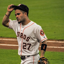 by Prentiss Findlay - Sports & Fitness Baseball ( houston astros altuve, altuve houston astros )