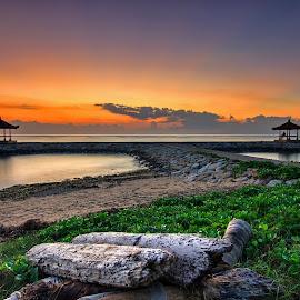 The gazebo by Kori Wardhana - Landscapes Sunsets & Sunrises