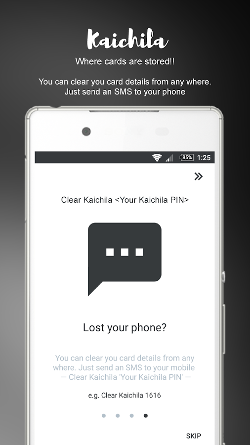 Kaichila (Wallet) Screenshot 1
