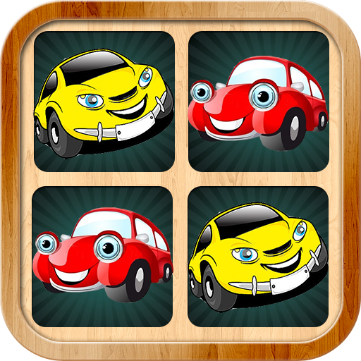 Car memory games pictures for kids and adults (game)