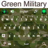 Free Green Military Keyboard APK for Windows 8