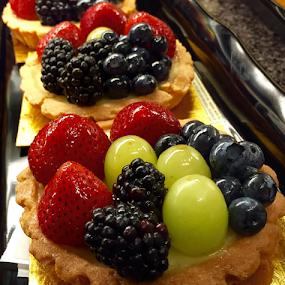 Petite Fruit Tarts by Lope Piamonte Jr - Food & Drink Cooking & Baking (  )