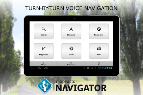 MapFactor GPS Navigation Maps APK for iPhone