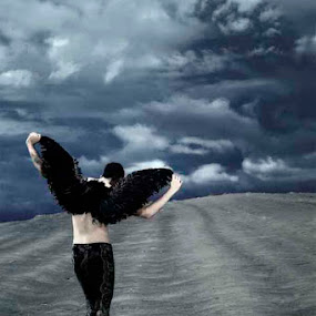 Black Swan by Gendis Photoworks - People Fine Art