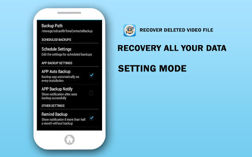 Recover Deleted Video File - screenshot