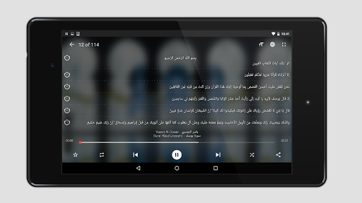 Quran Pro Muslim: MP3 Audio offline & Read Tafsir screenshot 8