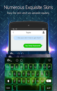 Flash Emoji Keyboard & Themes- screenshot