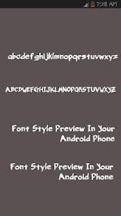 Tattoo Fonts for Android - screenshot