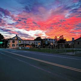 Sunrise in the city by Tony Bendele - Landscapes Sunsets & Sunrises ( sky, sunrise )