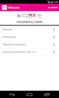 Screenshot of Tesorería CDMX
